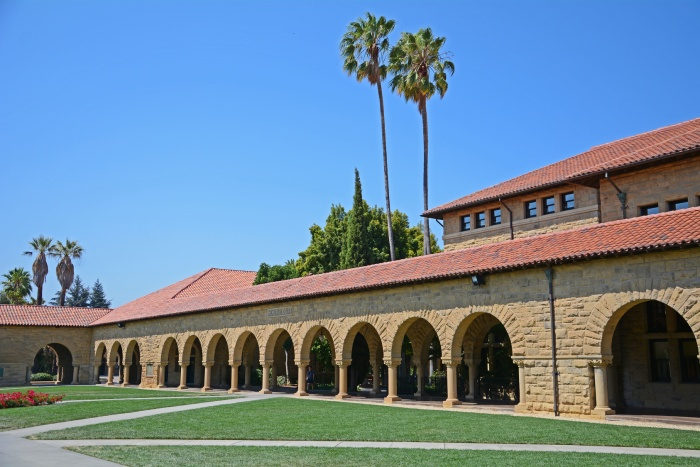 Stanford University, Memorial Court, USA