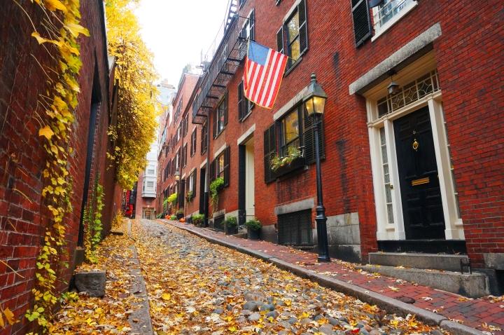 Boston la ville au 1000briques